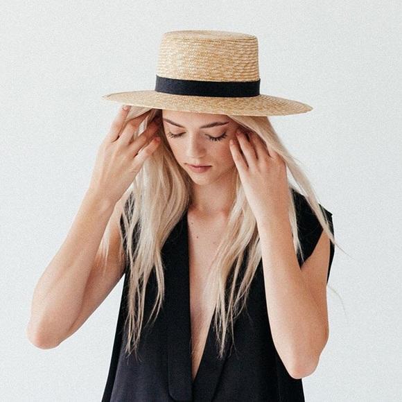 c0f563b4030 Janessa Leone Accessories - Janessa Leone Klint Straw Hat in Natural